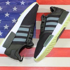 Adidas NMD R1 Boost Mens Running Shoe Green CQ2414